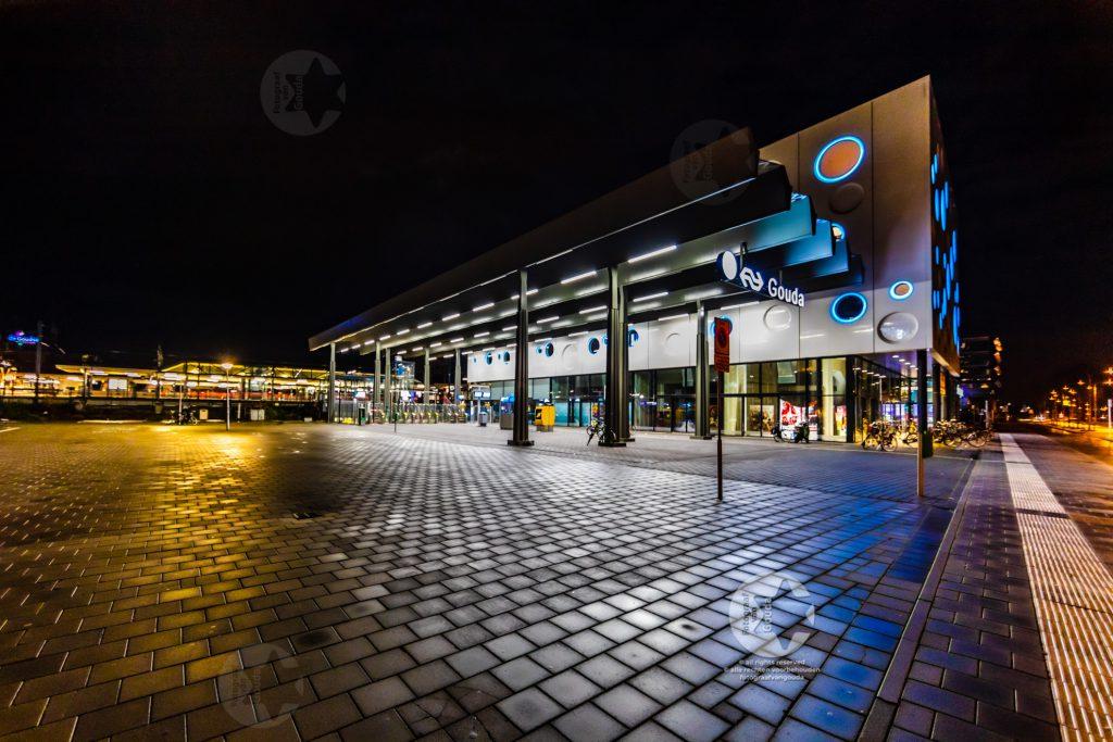 Cinema Gouda bij nacht