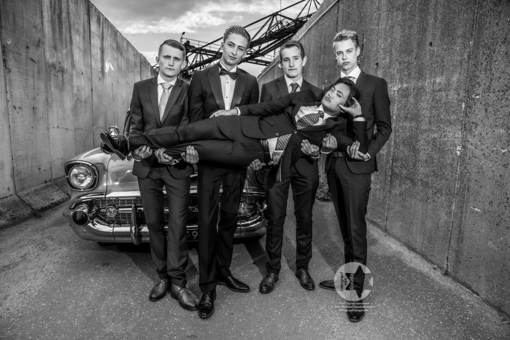 chevyboys galafotografie gala zwart-wit foto