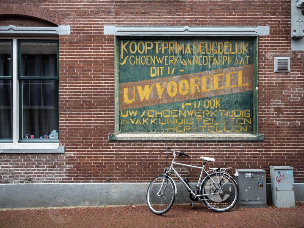 Authentieke gevelreclame Gouda - fotograaf Gouda - foto binnenstad Gouda